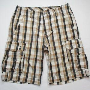 Levi's Mens Old School Vintage Cargo Shorts